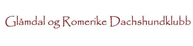 Glåmdal og Romerike Dachshundklubb